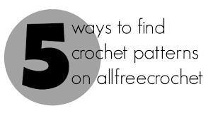 All Free Crochet Patterns Delectable 48 Ways To Find Crochet Patterns On AllFreeCrochet AllFreeCrochet