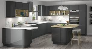 Classic Lucido Senza Anthracite listed in: gloss Kitchen Doors Bq, gloss  Kitchen Cleaner and. Grey Gloss Kitchen, Kitchen Cabinets ...