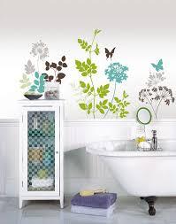 habitat wall decals by wallpops contemporary bathroom
