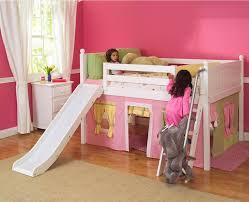 girl bunk bed with slides diy beds slide simple regarding girls plan 6