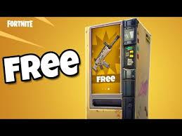 Mj Vending Machines Beauteous Fortnite Vending Machine Free Scar YouTube