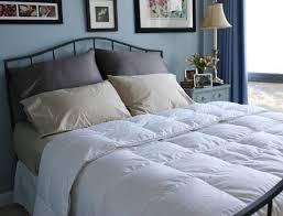 luxury aloe vera white goose down comforter extra warm