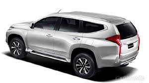 2018 mitsubishi pajero sport.  pajero inside the cabin is a restyled dashboard with touch screen infotainment  system the new car gets redesigned steering wheel mounted  on 2018 mitsubishi pajero sport