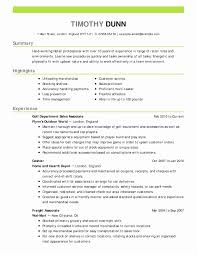 Sample Bartender Resume New 9 Best Creative Resumes Images On ...