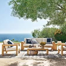Larnaca Outdoor Teak Sofa