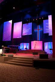 Contemporary Church Decor Church Stage Design Church