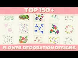custom flower decoration designs for