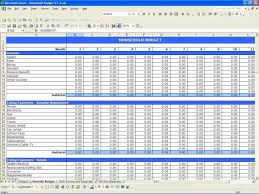 Tax Spreadsheet For Small Business And Business Income Expense ...