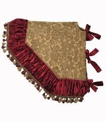 Christmas_tree_skirt-gold_chenille-red_velvet-tassel_fringe-reilly_chance_collection_grande