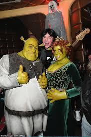 Lovely The Original Shrek: They Dressed Up As Shrek And His Wife Fiona For A  Halloween