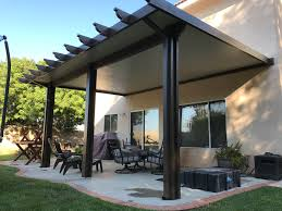 alumawood insulated roofed patio cover kit