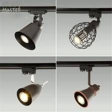 rustic track lighting. Black Rustic Led Track Light Cob Ceiling Rail Lights Spotlight For Kitchen Fixed Clothing Shoes Lighting