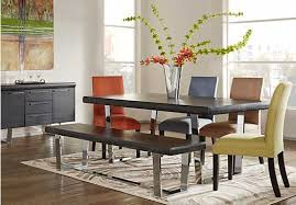 rooms go dining table sets room buffet bench 2018 including intended for to set design 6