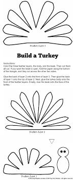 Free Craft Printables Templates Cute Turkey Craft W Free Printable Template Planning Playtime