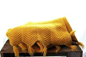 Mustard Yellow Throw Blanket Inspiration Mustard Throw Blanket Mustard Yellow Blanket Throw Blanket Vintage