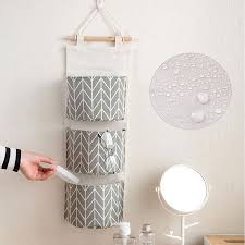 wall hanging storage. Contemporary Storage EEEKit 3pocket Wall Mounted Storage Bag Over The Door Organizer Closet  Pockets With Hanging A