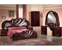 mahogany bedroom furniture. classic bedroom set mahogany finish made in italy 44b8411m furniture e