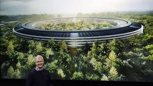 cupertino apple office. apple ceo tim cook discusses the new campus at an event to announce cupertino office