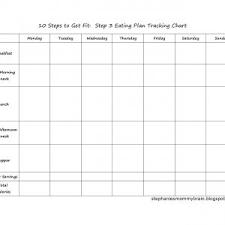 Food Tracking Chart Unique Food Tracker Chart Konoplja Co