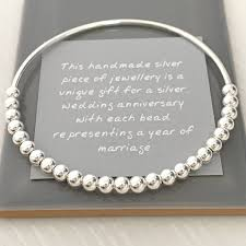 it s a silver jewelry for 25th anniversary gift traditional wedding gifts
