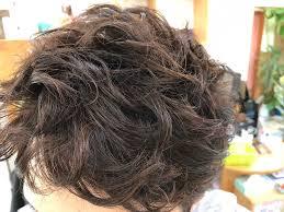 メンズの髪型 パーマ風セット 哲也の部屋