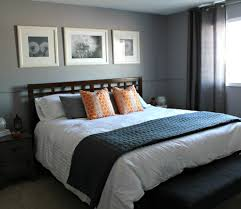 Great Bedroom Grey And Blue