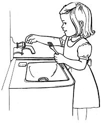 Jeux D Enfants Activit Enfant Faire La Vaisselle En Famille