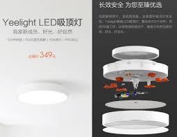 <b>Потолочная лампа Xiaomi</b> Yeelight: да будет свет в вашей комнате
