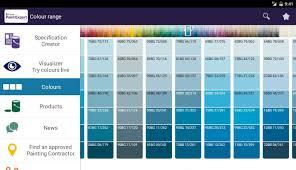 Paint Colour Chart Crown 43 Genuine Delux Paint Chart