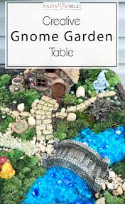 gnome fairy garden ideas how to put build an elevated gnome or fairy garden