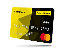 netspend prepaid card