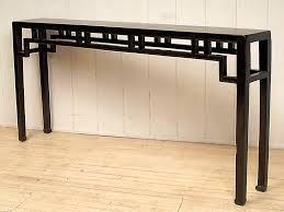 black hall tables narrow. Image Of: Extra Long And Narrow Console Table Black Hall Tables E