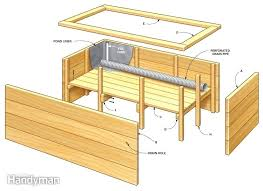 diy planter box stunning raised planter boxes plans build your own self watering planter box plans