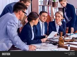 Business People Office Image Photo Free Trial Bigstock