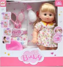 Drink Wet Potty Training Doll For Girls Multi Color
