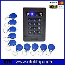 rfid id keyfobs one door access control machine kit 180kg electric whole diy full fingerprint door access control system kit controller 180kg magnetic lock