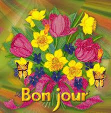 """Résultat de recherche d'images pour """"gifs bonjour fleurs de printemps"""""""