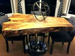 stump dining table for tree slice d q0090072