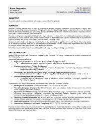 Marketing Director Resume Sample Accounts Manager F Peppapp