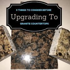 granite kitchen tips tricks renovation cabinets changing kitchen updating