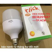 Combo 3 bóng đèn LED trụ tròn công suất 30W - ánh sáng trắng (bảo hành 1  năm - siêu sáng), Giá tháng 10/2020