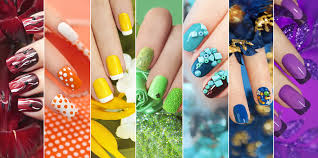 diffe types of acrylic nails