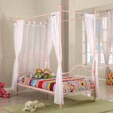 Bedroom Twin Canopy Sheers Princess Canopy Curtains Canopy Bed ...