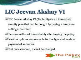 Jeevan Akshay Chart Lic Jeevan Akshay Vi