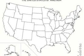 Blank Map Of Usa Us Outline World Pdf 800 X 539 Pixels On