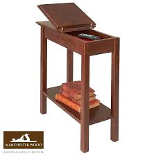 storage table wide end tables with for bedroom round end tables with storage and side