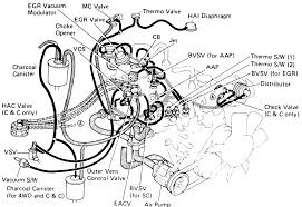 repair guides vacuum diagrams vacuum diagrams autozone com 3 emission system component layout and vacuum diagram 1984 22r e engine california