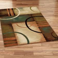 beckett rectangle rug brown