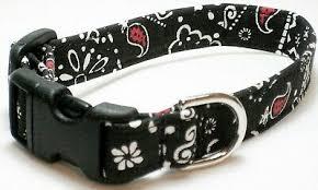 Black/Red Bandana (#2) - Cat Collar, <b>Dog Collar</b>   eBay