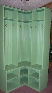 Corner Mudroom Bench Custom Made Corner Mudroom Locker Mudroom Pinterest Lockers